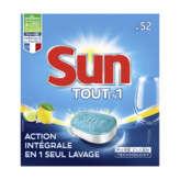 Sun Tablettes Lave-vaisselle - Classic - Citron - 52 Pastill... - X