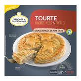 Française de Gastronomie Tourte - Poularde, Cèpes Et Girolle... - 450g