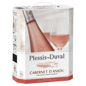 Cabernet d'Anjou - Loire et centre - Plessis-Duval - Vin rosé