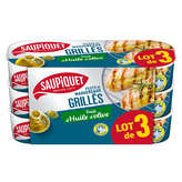 Saupiquet SAUPIQUET Filets de maquereaux grillés - Trait d'huile d'oli... - 3x120g