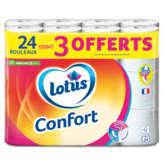 Lotus - Papier Hygiénique - 24 Rouleaux Dont 3 Gratu... - X24