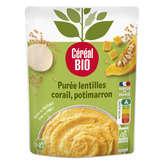 Céréal Bio Purée - Lentilles Corail - Potimarron - Biologiqu... - 2