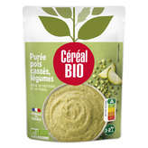 Céréal Bio Purée - Pois Cassés - Légumes - Biologique - 2