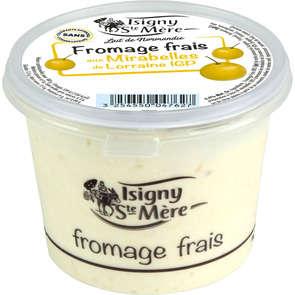 Fromage frais aux mirabelles - 6,5% mg