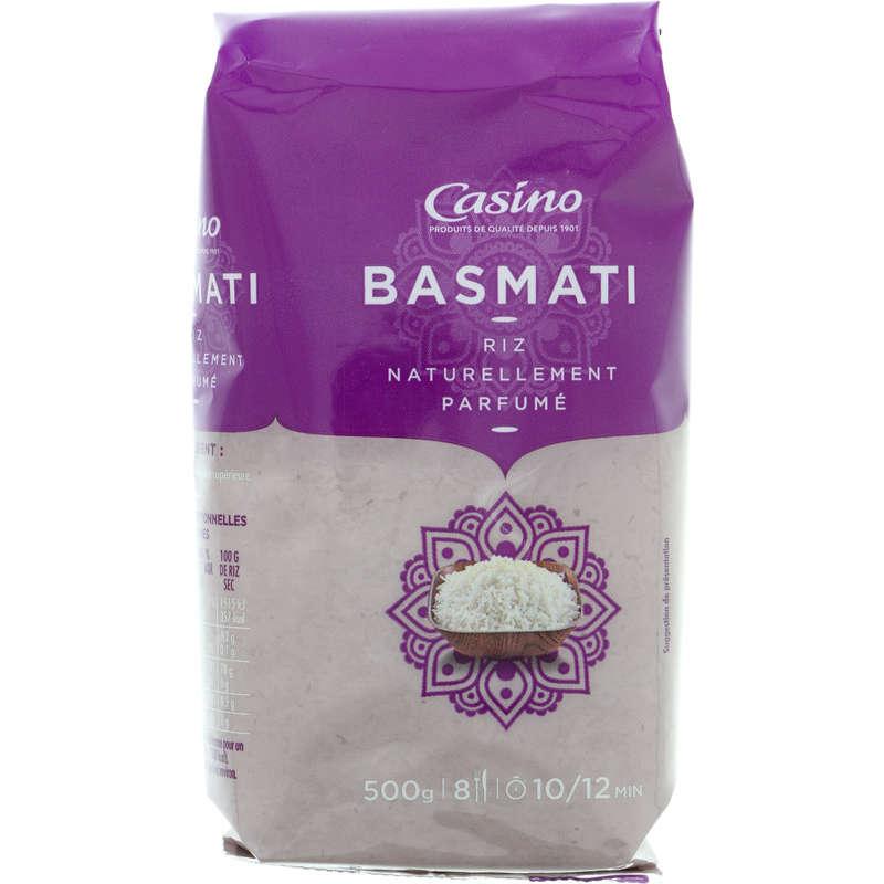 CASINO Riz - Basmati - Naturellement parfumé