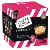 Carte Noire CARTE NOIRE Espresso - 16 Capsules Plastique - Intensité 5 -... - 128g