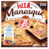 La Pizza de Manosque Chèvre Surgelée Label Rouge - 430g