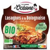 la cuisine d'océane Lasagnes à la bolognaise pur boeuf, bio ( Prix unitaire ) - Envoi Rapide Et Soignée