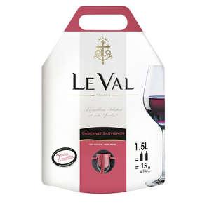 Le Val - Cabernet Sauvignon - Vin rouge