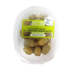 Olive - Vertes - Farcies - Aux amandes