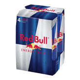 Red Bull Energy Drink - Boisson Énergisante - 4x355ml