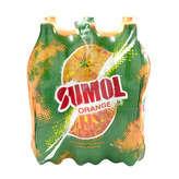 Sumol Boisson Gazeuze - Orange - 6x1,5l