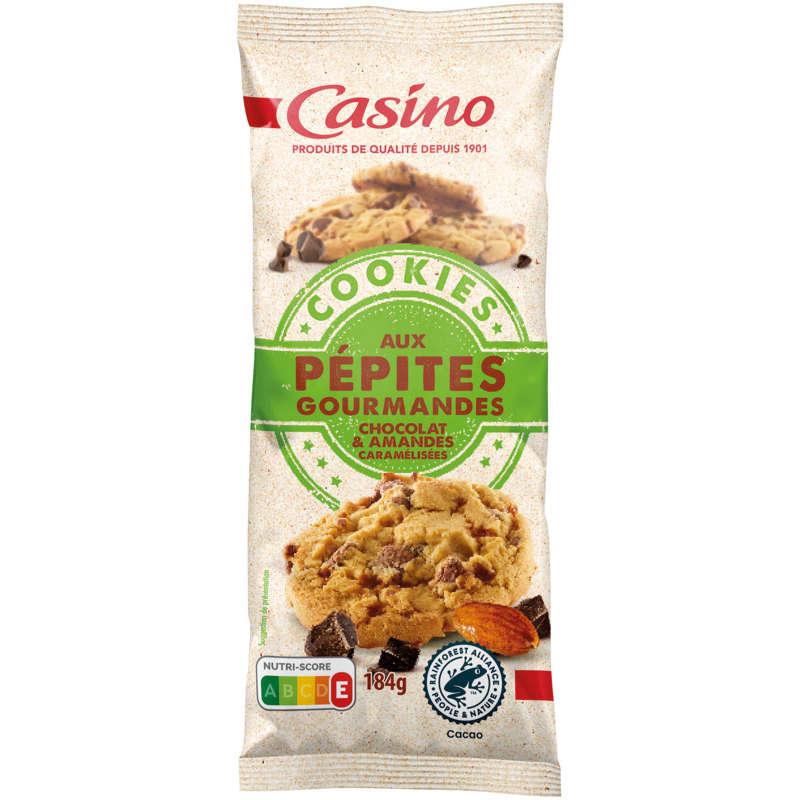 Cookies aux pépites gourmandes - chocolat et aman