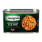 Cassegrain légumes cuisinés à la thaï 1/2 375g - ( Prix Unitaire ) - Envoi Rapide Et Soignée