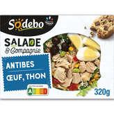 Sodeb'O SODEBO Salade - Antibes - Thon - Olives - 320 g
