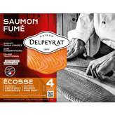 Delpeyrat Le Saumon - Saumon Fumé D'ecosse - En Tranche - X4... - 1