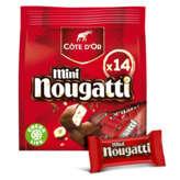 Côte d'Or Mini Nougatti - Barres Nougat Chocolat Au Lait - 0