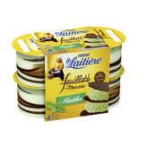Nestlé Nestle La Laitière - Feuilleté De Mousse - Menthe - X57g