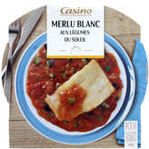 Soleil Casino Merlu Blanc Aux Légumes Du  - 300g