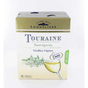 Sauvignon - Touraine - Loire - Alc 12%vol. - Vin blanc