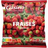 CASINO Fraises - Entières 450g