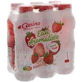 CASINO Boisson aux fruits - Fraise - A l'eau de so