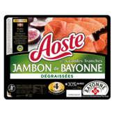 Jambon de Bayonne - Jambon cru - -Dégraissées