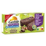 Gerblé Brownies Chocolat Noisette - Sans Gluten - 150g