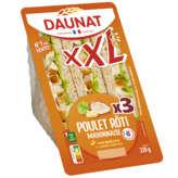 Daunat DAUNAT XXL Sandwich - Poulet roti - Mayonnaise - x3 - 230g