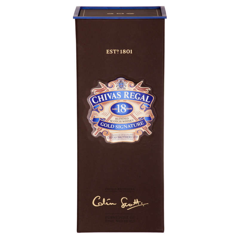 Gold Signature - Whisky - 18 ans d'âge - Blended scotch whisky - Alc. 40% vol.