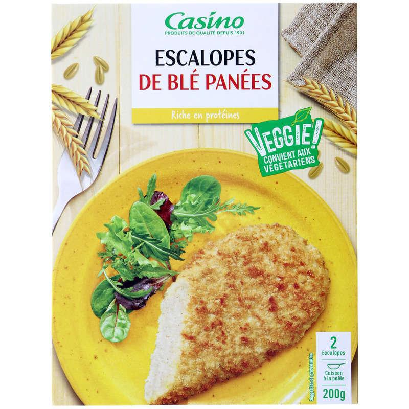Veggie ! - Escalopes de blé panées