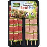 Socopa Assortiment De Brochettes Boeuf Et Porc - X6 - 5