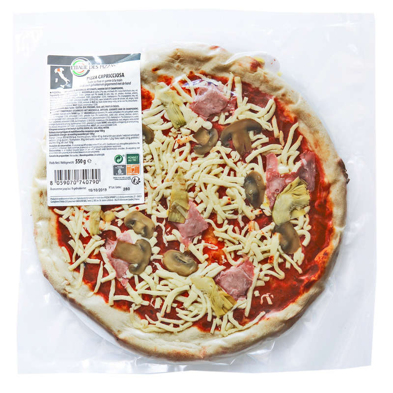 Pizza - Capricciosa