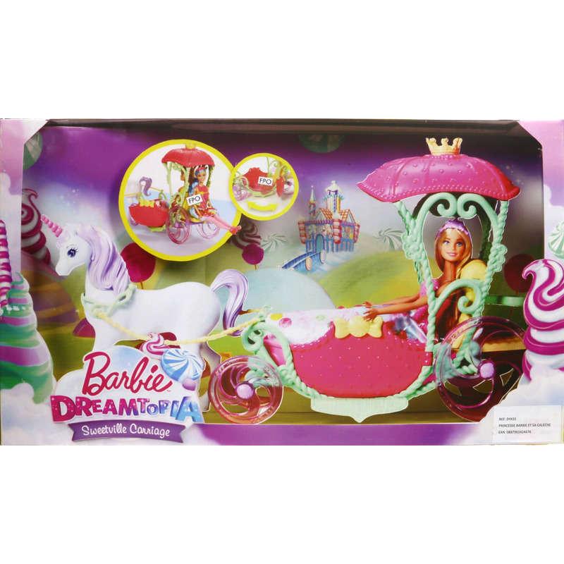 Poup es g ant casino jouets de no l - Barbie caleche ...