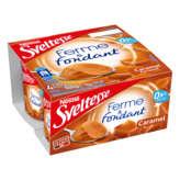 Nestlé Nestle Sveltesse - Ferme Et Fondant Caramel - 4x125g