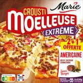 Marie Marie Crousti Moelleuse Extrême - Pizza - Americaine - X3