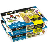 Sodeb'O Salade & Compagnie - Salade Antibes - Riz, Œuf, Salad... - 2x320g
