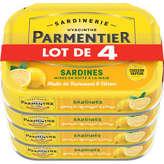 Parmentier Sardines Entieres Huile & Citron - 4135g