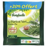 Bonduelle Haricot Vert - Extra Fin - Précuit - 1kg + 20% Gratuit