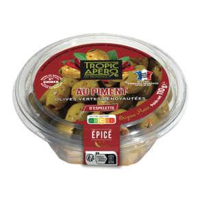Olive - Verte - Denoyauté - Au piment d'espelette
