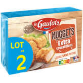 Le Gaulois Nuggets Extra-croustillant - X2 - 400g
