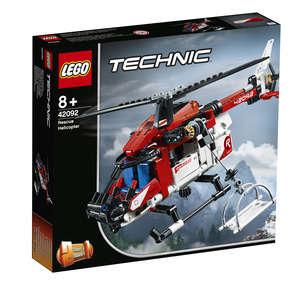 Technic - L'hélicoptère de secours - 42092 - Dès 8 ans