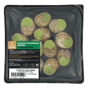 Escargots de Bourgogne très gros - x12