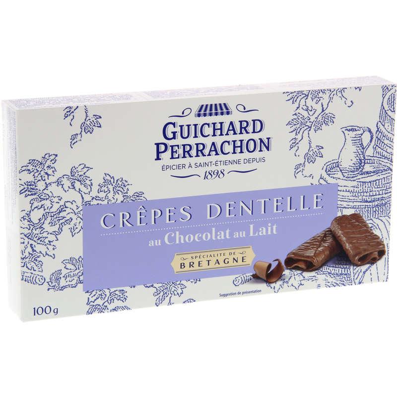 Crepes dentelles - Chocolat au lait 100g