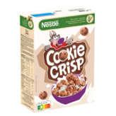 Nestlé NESTLE Cookie crisp - Céréales biscuit au pépites chocolat - 375g