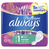 Always Platinum - Serviettes - Avec Ailettes - Normal - Tail... - X12