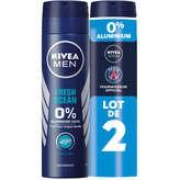 Nivea NIVEA Fresh Ocean - Men - Déodorant - 2x150ml