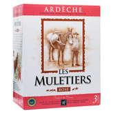 Les Muletiers Les Muletiers - Ardèche - Vin rosé - 3l