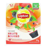 Lipton Thé Noir - Fruits Rouges - 12 Capsules - X12