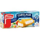 Findus Panés De Cabillaud - 100% Filet - 1